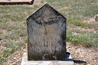 Unusual Gravestone - Bell County 0001