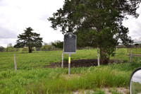 Breeding Family Cemetery / First School in Fayette County