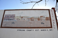 Murals - Sterling County, Texas