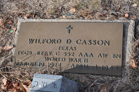 Casson, Wilford Dale 2