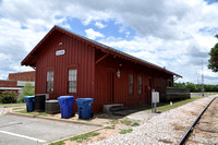 Houston and Texas Central Railroad Depot - Elgin