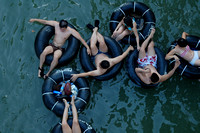 Tubing the Guadalupe River 0011