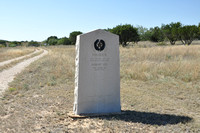 Historical Markers - Coke County - Robert Lee, Bronte