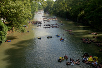 Tubing the Guadalupe River - Gruene, Texas
