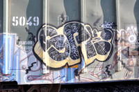 Train Graffiti - Texas
